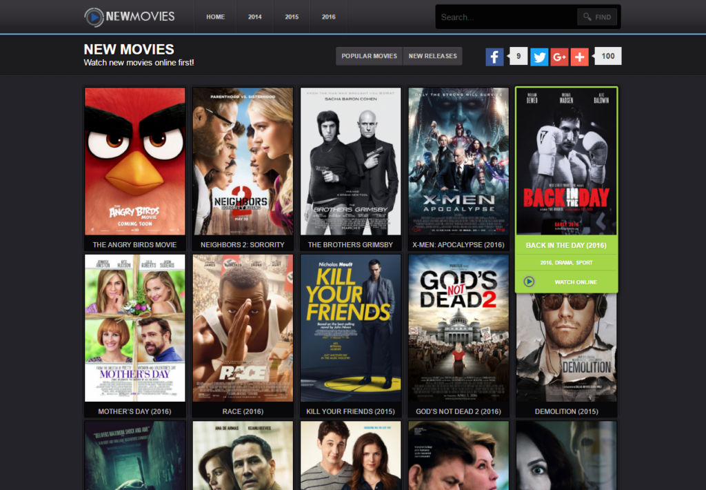 New Movies Watch new movies online free