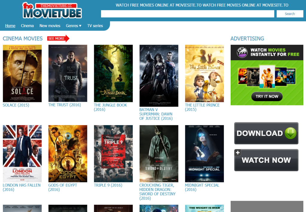 watch free unblocked movies online