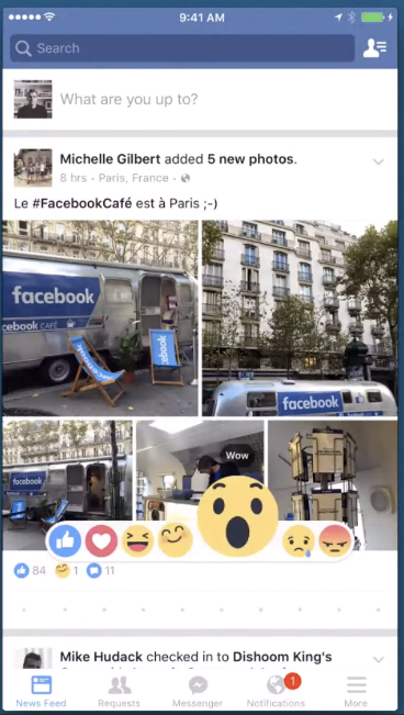 Facebook Introducing Like button with 6 Empathetic Emojis (2)