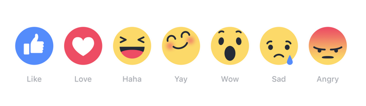 Facebook Introducing Like button with 6 Empathetic Emojis